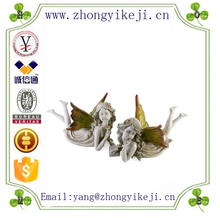 factory custom-made handmade carved fashion resin flying angel decoration