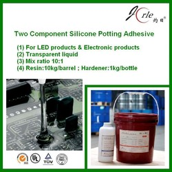 double part potting glue for pcb