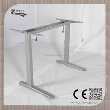 customized height adjustable school office computer desk and chair