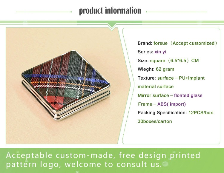 high-definition makeup cosmetic folding mirror ISO 9001:2008 manufacturer-화장 ...