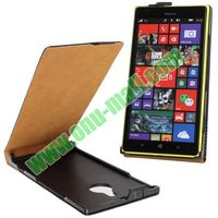 High quality Vertical Flip Leather cover case for nokia lumia 1520