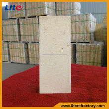 75% al2o3 Withstand hgh temperature high duty high aluminum fire resistant brick for glass kiln