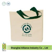 Reusable 100% cotton canvas tote bags wholesale ALD502