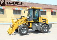 Log loader with trailer,hydrostatic drive small log loader ZL16 for sale