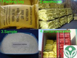 Manufacturer supply ammonium sulphate fertilizer price