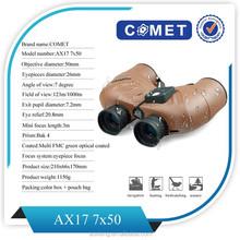 2015 hot sale telescope binoculars with scales &compass