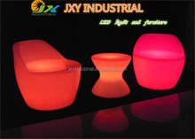 Bucket Design user-friendly PE rechargeable RGB colorful long service life remote control Led Arm Chair