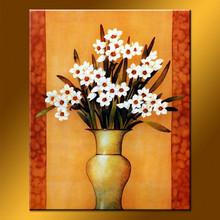 100% Handmade Knife Oil Paintings Flower