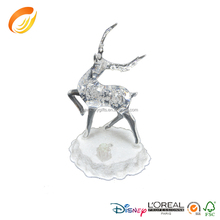 2015 New Design Christmas decoration deer cheap hot sale top quality white deer decoration