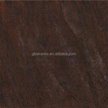 Guolian factory metallic cheapest rustic 600x600mm porcelain glazed tile