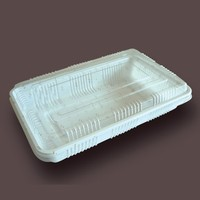 Plastic food packing transparent packing box pp box
