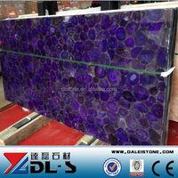 purple black Semiprecious stone slabs