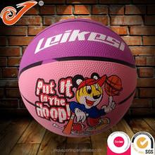 Mini basketball high quality PU kids playing rubber basketball