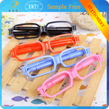 Korea Stationery Wholesale Office Supplies Cartoon Glasses New Multicolor Plastic Ballpoint pen