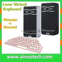 2015 virtual bluetooth laser keyboard for laptop US language projection wireless keyboard for tablet pc