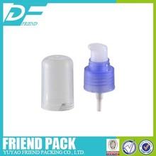 Cosmetic Cream Pump 24/410 plastic cream pump with cap, liquid facial cream plastic 24/410 cream pump,Lotion Spray