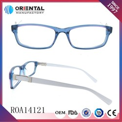 New Model of Pink and Blue Combined Acetate Frame Vogue Optical Glasses
