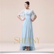 Sherny Bridals 2015 Oversea Popular New Navy Blue Evening Dress