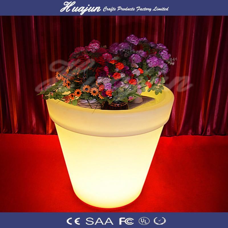 Led Round Planter Pots Garden Flower Pot Rgb New Design