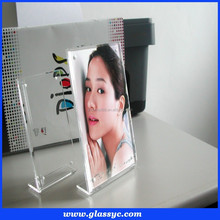 Top Quality Popular Design Custom Made Magnetic Transparent Clear Acrylic Funia Photo frame