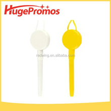 Promotional Customized Plastic Remove Ball Point Pen with Lanyard