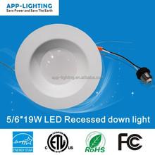 """remodel 6"""" can led downlight kit 2700K 3000K 4000K led downlight fittings"""