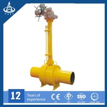 New design extension stem ball valve for gas field