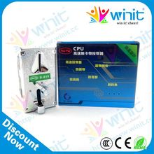 Video game console wholesale coin acceptor for coin operated soft drink dispenser