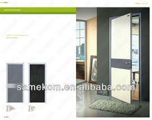 interior de aluminio marco de la decoración de la puerta al ras