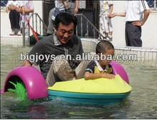 Durable kid paddle boat for sale, paddle boat pool, water paddle boat