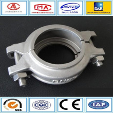 Foring clamp steel flexible pipe rubber material joint cast steel pipe manufacturer