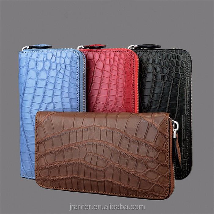 ladies clutch bag genuine crocodile leather clutch bag women_4