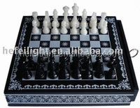 Backgammon chess set for funny games