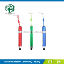 Stylus Pens With Glitter, China Aluminum Touch Pen, Custom Mini Banner Stylus