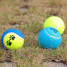 2014 new ! Wholesale 6.3cm Fluorescent Promotional Tennis Ball