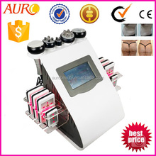 Au-61B laser pads 40khz Ultrasonic Cavitation weight loss machine for salon use or home use