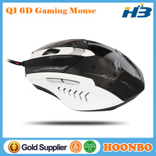 High Performance 8 Button Programmable Gaming Mouse 2400 DPI Up And Down