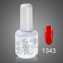 nueva marca ido remoje off de colores uv gel de uñas para uñas de arte