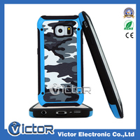 Shockproof warrior series camouflage leather case for Samsung Galaxy S5 G900
