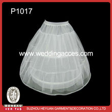 P1017 Hot Sale Lovely 2-Hoop Petticoat for Kids