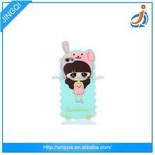 Custom design cheap blue silicone cell phone case