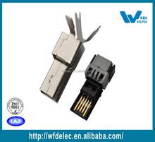 Mini 5pin male usb connector