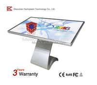 Intelligent Shopping Mall Advertising Touch Screen Kiosk, Dual Screen multi stand PC kiosk/ touch screen Monitor, CHEAP PRICE!!