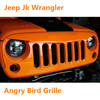 Auto Accessories Jeep For Jeep Wrangler Grille Angry - Bird Style