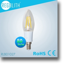 High quality aluminum rechargable led bulb e27 warm/cold white4w 320lm