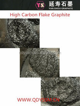 Manufacture Supply High carbon Flake Graphite