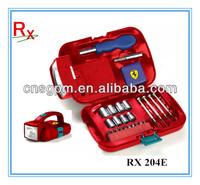 25pcs Mini Promotion Gift Tool set Small LED Torch Tool kit