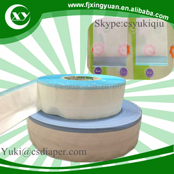 Raw Material: PP Side Tapes for Diapers