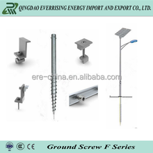 ERE garden fencing galvanized N type traffic sign post for fence foundation