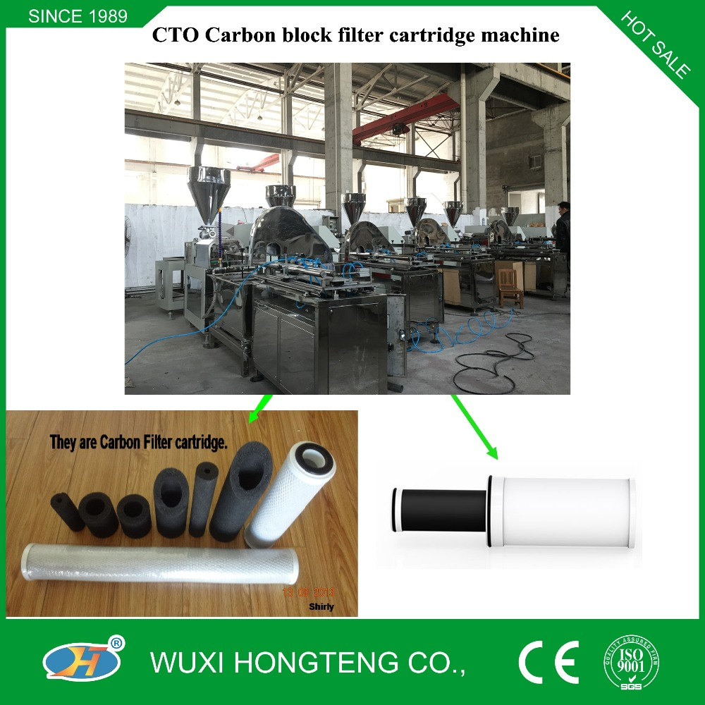 CTO Activated Carbon Filter Cartridge Machine